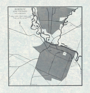 U.S. Army Map Service, 1954_borisov_plan