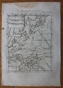 xMALLET_engraved Map of Poland Lithuania Russia_1718